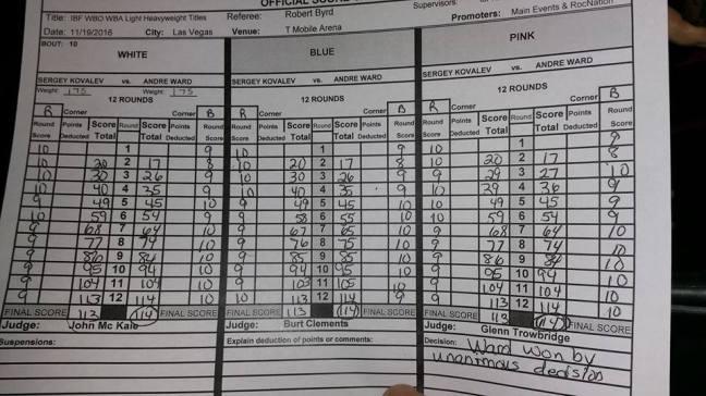 risultati-kovalev-vs-ward-vero-mary-ann-i-had-it-8-4-116-111-for-kovalev